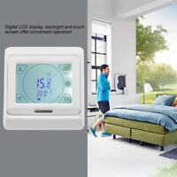 Digital LCD Touchscreen Thermostat Raumthermostat Fußbodenheizung Raumregler