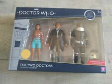 Dr Who The Two Doctors 3 Figure Collectors Set Second Ltd Edition New & Sealed