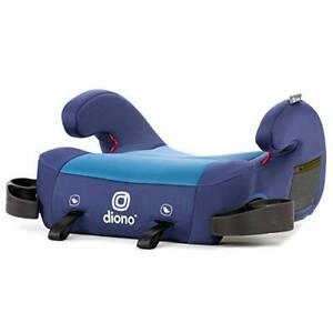 Diono Solana 2 Latch XL Space Backless Booster Seat | Lightweight Backless Bo...