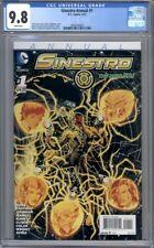 Sinestro Annual #1  (2015)  Green Lantern  DC Comics   1st Print   CGC 9.8