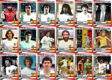 Valencia 1980 European Cup winners Cup Winners football trading cards
