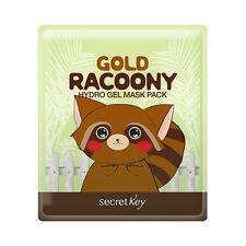 [Secret Key] Gold Racoony Hydro Gel Mask Pack - 1pack (5pcs)