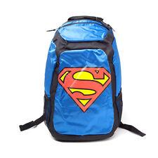 Dc Comics-Superman avec Nouveauté Cape Rouge Sac à dos-Bleu/Noir