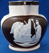 More details for admiral lord horatio nelson antique feldspathic porcelain small jug