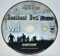 Resident Evil Archives: Resident Evil Zero (Nintendo Wii, 2009) Also Wii U MINT