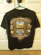 Sturgis 72nd Anniversary Men's Graphic Tee Shirt Black Hills Rally 2012 Size L