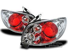 Coppia Fari Fanali posteriori cromati Peugeot 206 CC cabrio