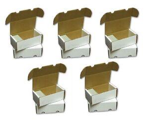 5X BCW 400 Count Card Storage Box