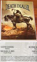 ❤️ DEATH DEALER #3 ~ 1st PRINTING ~ Glenn DANZIG Frank FRAZETTA Verotik Comics