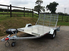 CAR TRAILER/ TRANSPORTER WILL CARRY  SMART CAR OR 2/3 LARGE MOTORBIKES