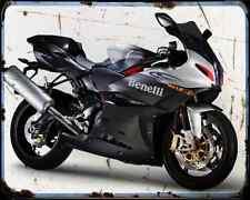 BENELLI Tornado Tre 1130 08 1 A4 Metal Sign moto antigua añejada De