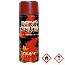 1 x 400ml Auspufflack bis 650 ° C  Ofenlack Thermolack Farbe rot - braun 13 311