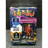 20/21 TOPPS MATCH ATTAX UEFA Soccer Trading Card 2 Player Starter Box