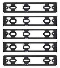5 X 200mm DLR-2002 Dual Dovetail Macro Rail / Plate Arca RRS Compatible Desmond