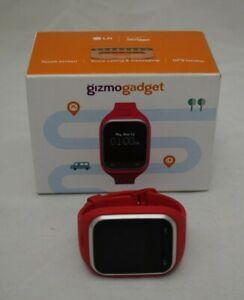 LG Gizmo Gadget Red Wireless Smart Watch LG-VC200 - Verizon - A323