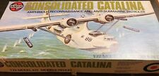 airfix 1/72 05007-6 consolidated pby-5a catalina vintage model kit conts sealed