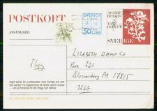 Mayfairstamps Sweden Stockholm Elizabeth Stamp Co Card wwk_23727