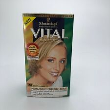 SCHWARZKOPF VITAL COLORS PERMANENT COLOUR CREME - 20 LIGHT BLONDE