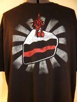 Captain Morgan T-shirt Rum Liquor Distillery Pirate Shirt Black XL