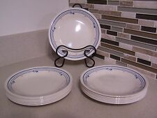 """VTG  Corelle  15 Country Violets 6.5"""" Desert or Bread Plates Early 1990's"""