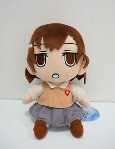 "Toaru Kagaku no index Misaka Mikoto 10"" Plush TAG Toy Doll Japan Railgun"