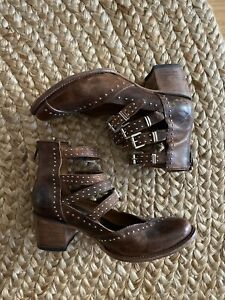 Freebird By Steven boots (shoes) size 10  style Name: Felicity Brown Leather