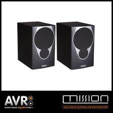 Mission MX2 Bookshelf Speakers (BLACK) MX-2 RRP $599.99