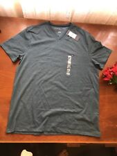 100% authentic genuine Mens Tommy Hilfiger T-shirt crew neck grey $4 EXPRESS