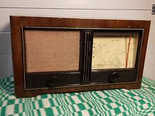 radio antigua de valvula mende ms195w