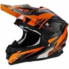 Cascos Scorpion color principal naranja talla M para conductores