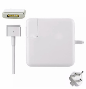 "85W MagSafe2 T-Tip Power Adapter Charger FOR Apple Macbook Pro 13"" 15"" Mac UK"