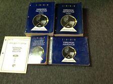 1999 FORD EXPEDITION LINCOLN NAVIGATOR Service Repair Shop Manual Set EWD SPECS