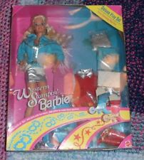 Western Stampin' Barbie Deluxe Play Set RARE HTF NIB