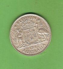 1959  AUSTRALIAN SILVER FLORIN TWO SHILLING COIN