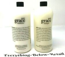 Philosophy Pure Grace Shampoo & Conditioner Duo Super-Size 32 OZ. Save $ NEW
