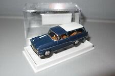 Brekina 20045 Opel Rekord P1 Caravan  _ blau _ TOP _ H4505