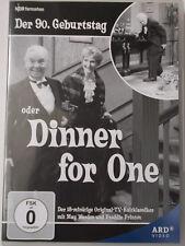 Dinner for One Der 90. Geburtstag Original TV Kult Silvester Klassiker M. Warden