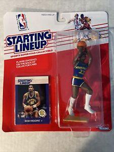 Rod Higgins 1988 Kenner Starting Lineup Golden State Warriors NBA Basketball