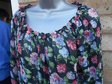 ATMOSPHERE ladies womens multicoloured floral summer top size 8