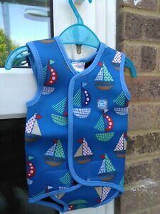 Splash About Medium Baby Wrap Swimsuit Size M Age 6-18 Months