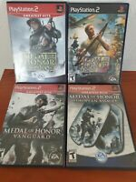 Medal of Honor Rising Sun, Vanguard, Frontline European Assault Playstation 2