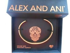 Alex and Ani Calavera Cuff Bracelet Rafaelian Gold FALL 2017 NWTBC
