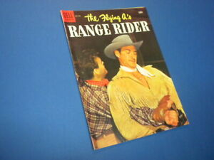 THE FLYING A'S RANGE RIDER #8 Dell Comics 1955 vintage TV WESTERN COMIC BOOK