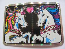 Rare Vintage Prism Carousel Unicorn Sticker - Prismatic Vending Machine Decal