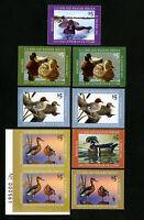 US Stamps VF Junior Duck lot of 9 OG NH