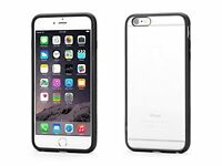 """Genuine Griffin Reveal for iPhone 6 Plus & 6s Plus 5.5"""". Black Clear"""