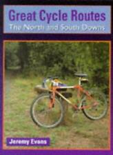 North and South Downs (Great Cycle Routes) By Jeremy Evans