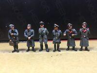 1/72 Resin WWII German Officers 6 Set Unbuild Unpainted WK050