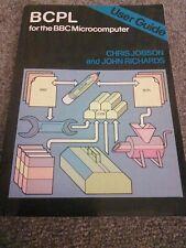 BBC Micro Computer BCPL User Guide Book Acornsoft