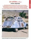 Citroën 2 CV Epaves Darwin Desert Californie / Andes 2002 Car Auto FICHE FRANCE